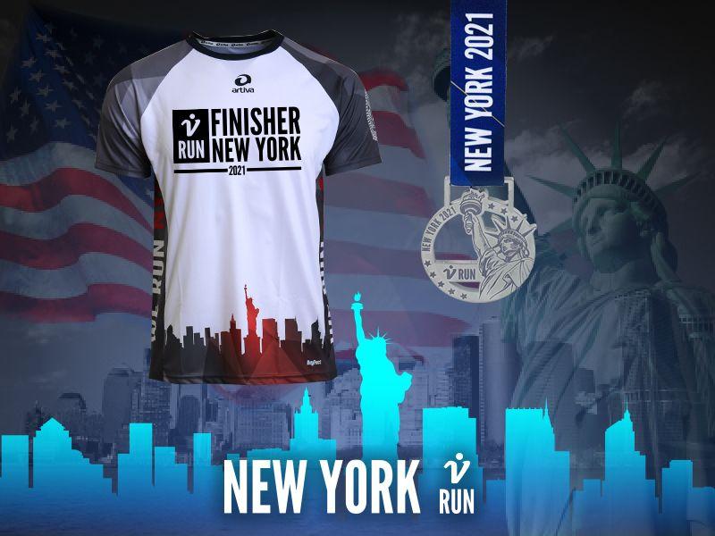 New York V-RUN - virtueller Lauf