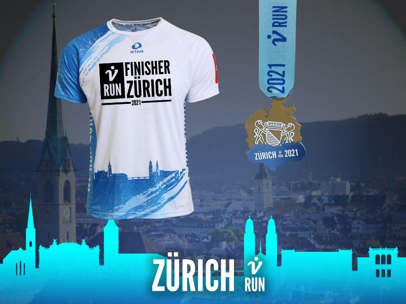 2. Zürich V-RUN - virtueller Lauf
