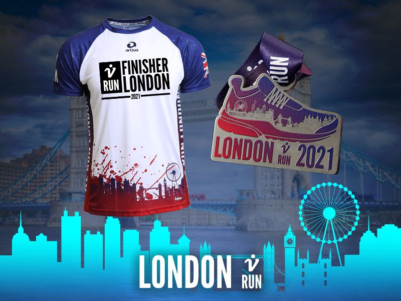 London V-RUN - virtueller Lauf