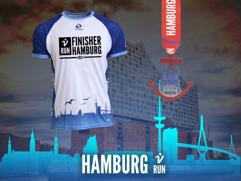 Hamburg V-RUN - virtueller Lauf