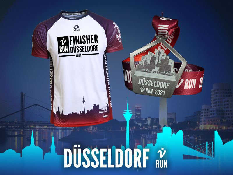 Düsseldorf V-RUN - virtueller Lauf