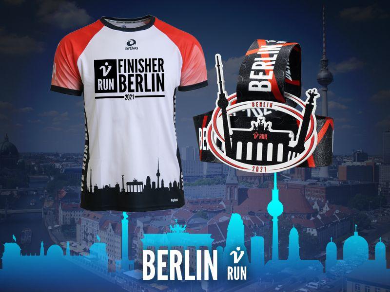 Berlin V-RUN - virtueller Lauf