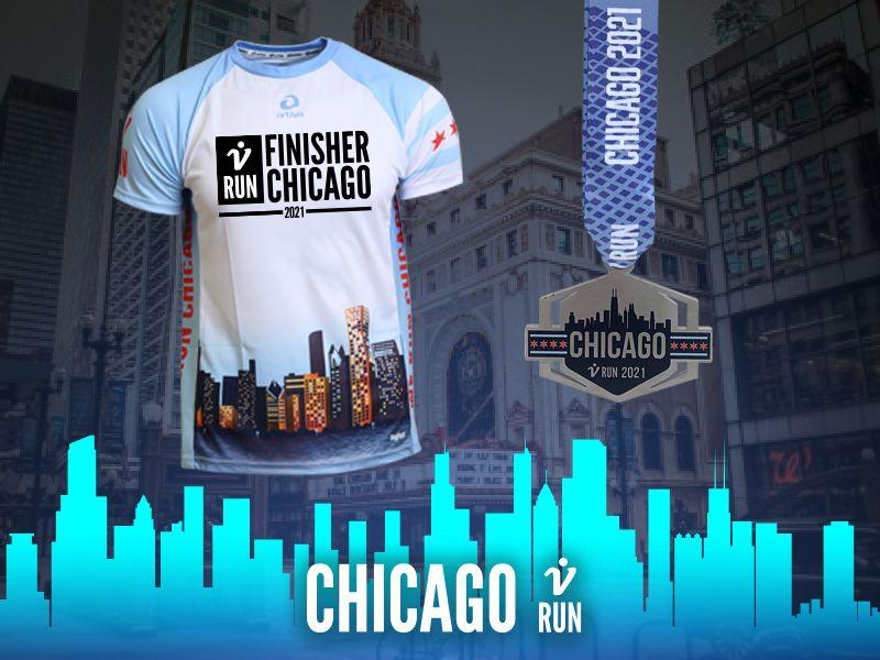 2. Chicago V-RUN - virtueller Lauf