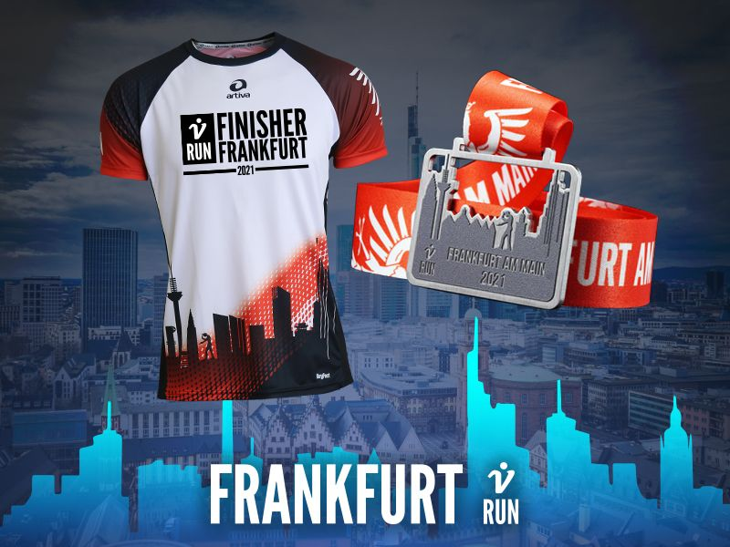 2. Frankfurt V-RUN - virtueller Lauf