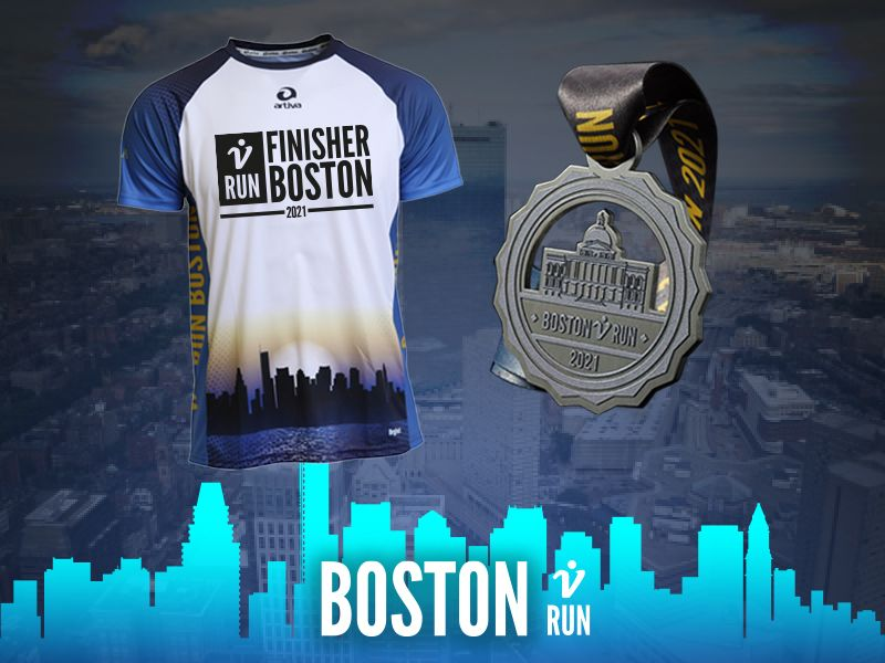 Boston V-RUN - virtueller Lauf