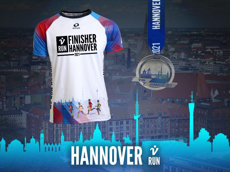 Hannover V-RUN - virtueller Lauf