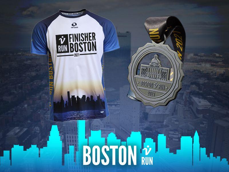 2. Boston V-RUN - virtueller Lauf