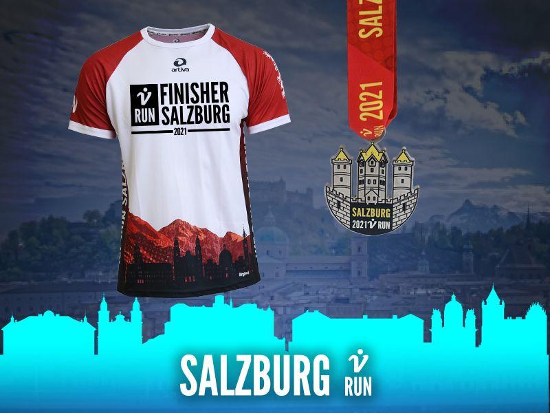 Salzburg V-RUN - virtueller Lauf