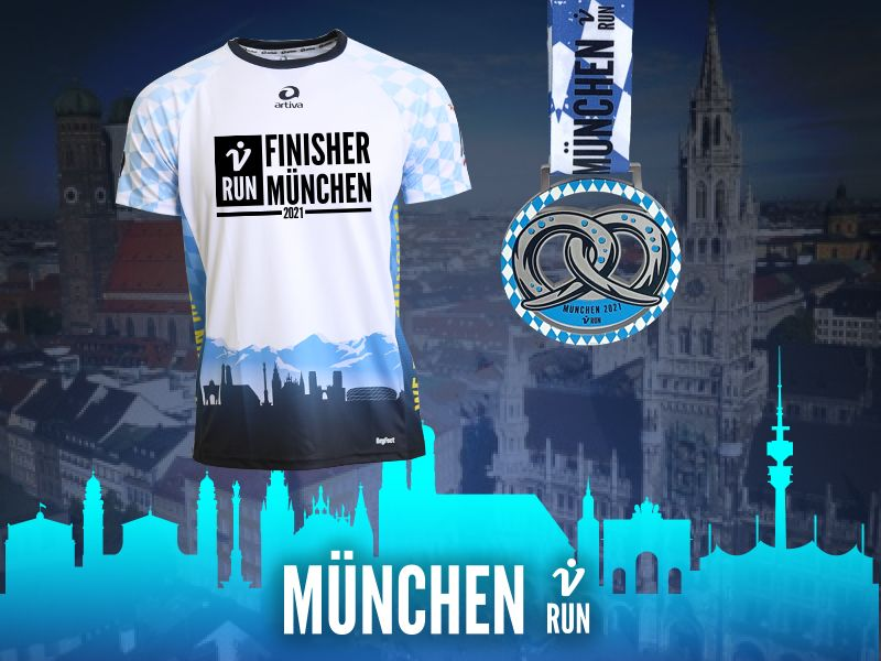 München V-RUN - virtueller Lauf